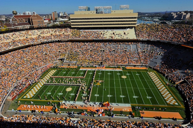 Utah State will travel to Neyland Stadium to play Tennessee on Aug. 30, 2014. (USATSI)