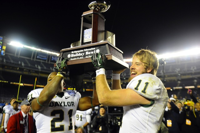 Baylor has chosen to ignore UCLA's final touchdown from the 2012 Holiday Bowl. (USATSI)