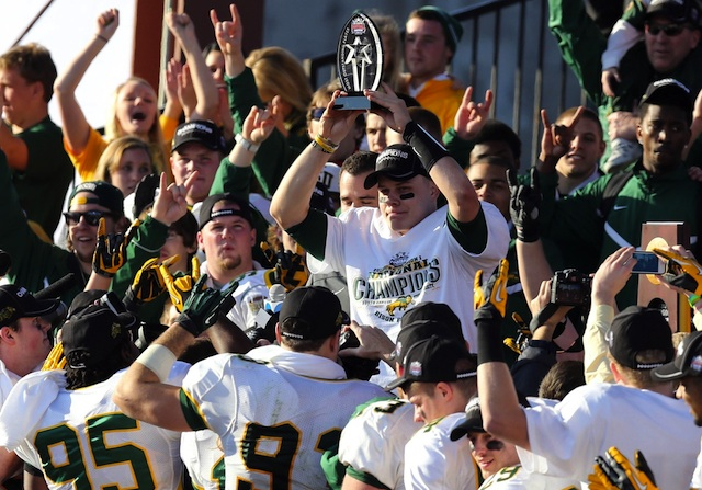 North Dakota State's future game against Iowa could be canceled due to the Big Ten's nine-game schedule. (USATSI)