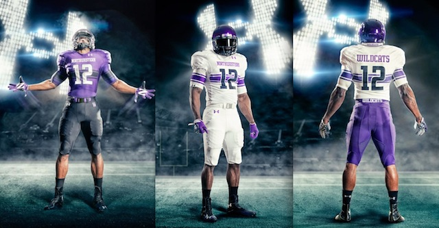 PHOTOS  Northwestern unveils new Under Armour uniforms - CBSSports.com 0b4cfc47b