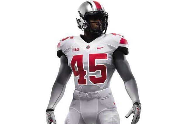 Ohio State will reportedly wear the stormtrooper look on the road against Michigan. (Twitter.com)