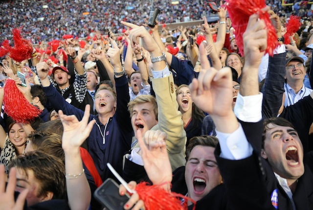 Image result for ole miss football fans