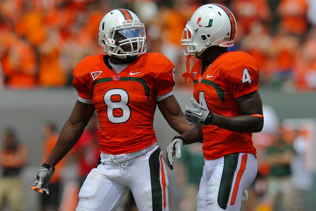 With players like Duke Johnson and Phillip Dorsett back in 2013, Miami is a contender for the ACC title. (USATSI)