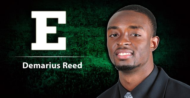 Demarius Reed was killed in a possible robbery Oct. 18. (EMU Athletics)