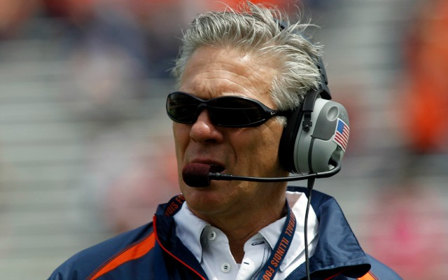 Ron Zook was 57-65 in 10 seasons as a college head coach. (USATSI)