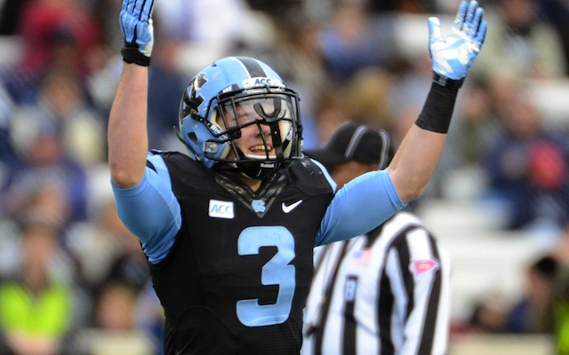 Ryan Switzer has become a home run threat for UNC late in the season. (USATSI)