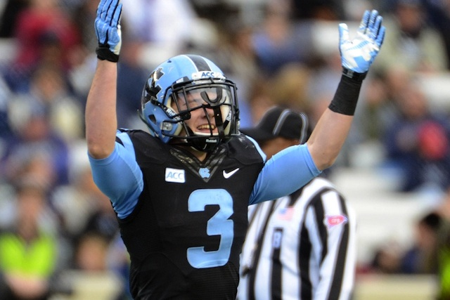 Ryan Switzer recorded his fourth punt return touchdown of the season against ODU. (USATSI)