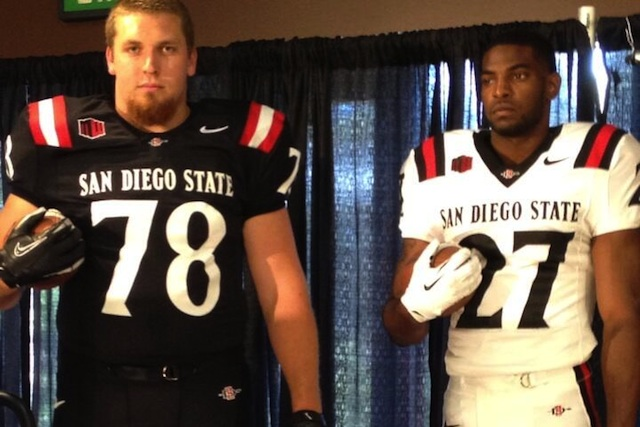 San Diego State Football Jersey
