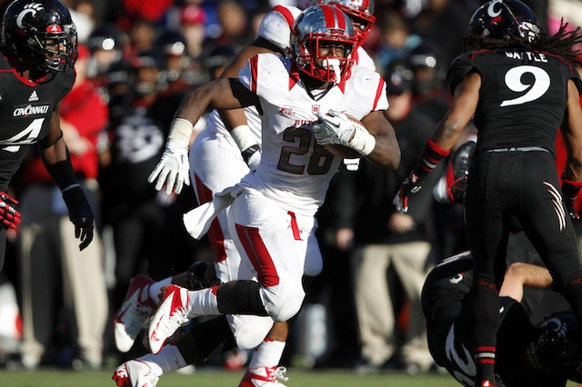 Savon Huggins can live up to the high school hype as Rutgers' starting running back in 2013. (USATSI)