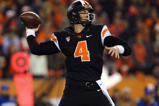 Sean Mannion will return in 2014 with a chance to break the Pac-12 career passing record.  (USATSI)