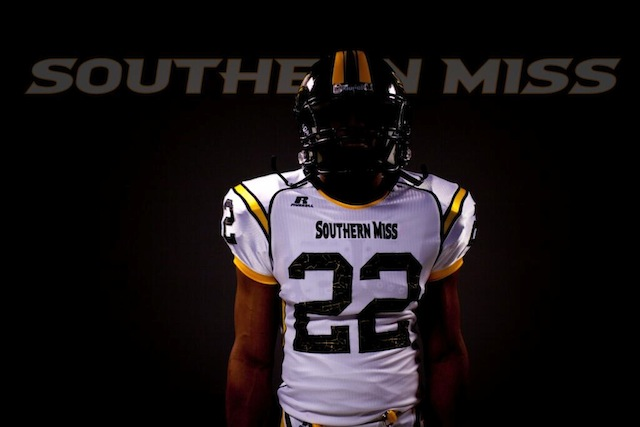 Southern Miss unveiled a preview of their new Russell Athletic uniforms. (Twitter.com)