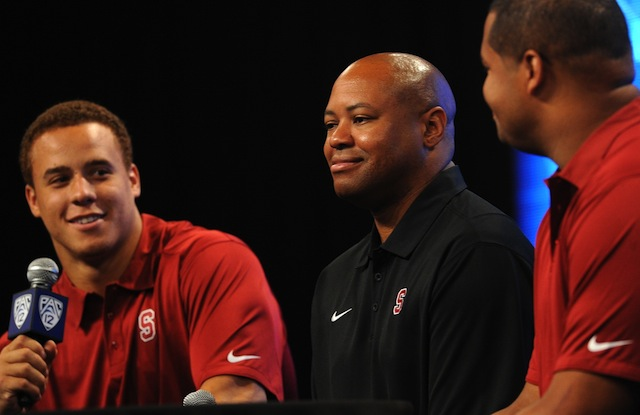 Bruce Feldman would not be surprised to see Stanford on the field playing for the BCS title in January. (USATSI)