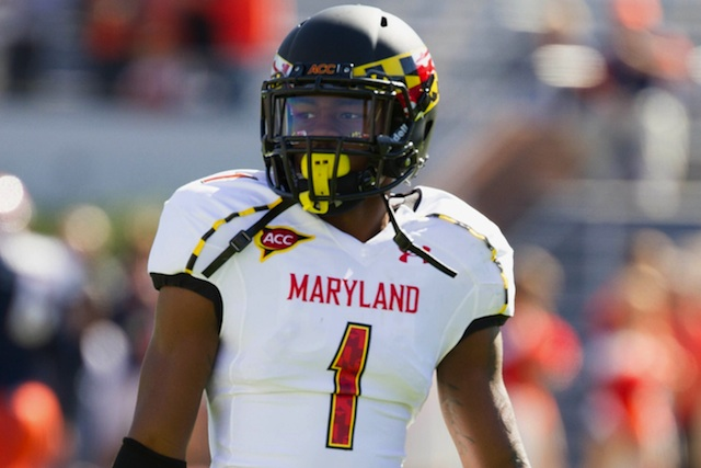 Maryland wide receiver Stefon Diggs has been flexing his acting muscles in the offseason. (USATSI)