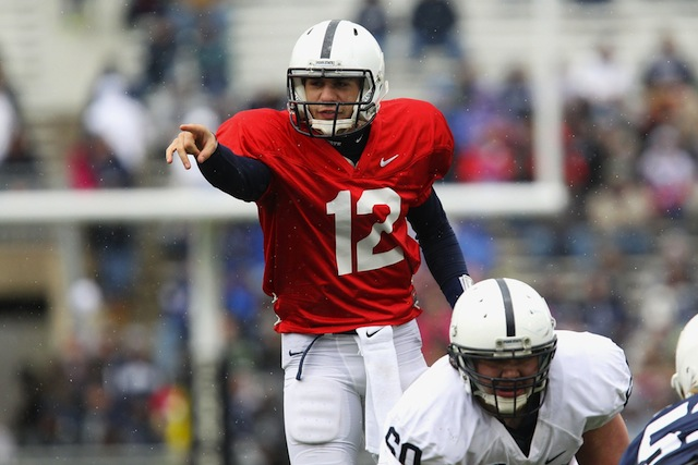 Former Penn State quarterback Steven Bench will transfer to South Florida. (USATSI)