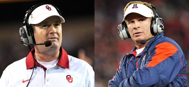Bob Stoops Brothers Bob And Mike Stoops Are