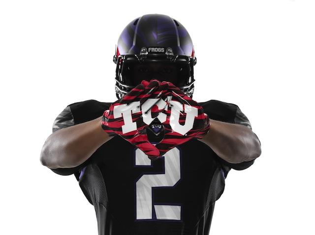 TCU has special uniforms for its season opener against LSU