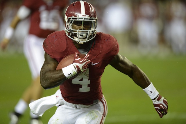 TJ Yeldon seems to have his best performances in Alabama's biggest games. (USATSI)
