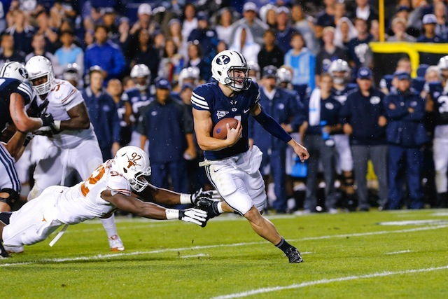 Taysom Hill led an up-tempo ground attack that finished with 550 rushing yards against Texas. (USATSI)