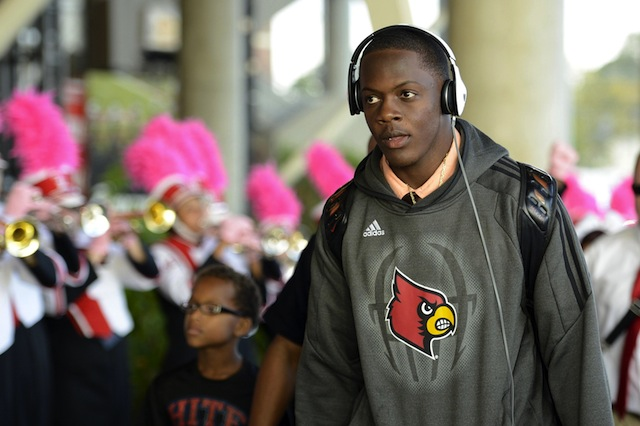 Bridgewater's Heisman chances, unlike his draft stock, were tied to Louisville's performance as a team. (USATSI)