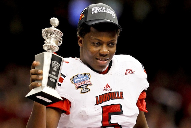 Louisville received 28 of 30 possible first-place votes in the American Athletic Conference preseason poll. (USATSI)