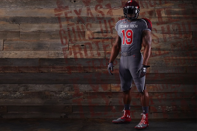 Texas Tech's alternate uniforms will be auctioned off to benefit the Lone Survivor Foundation. (USATSI)