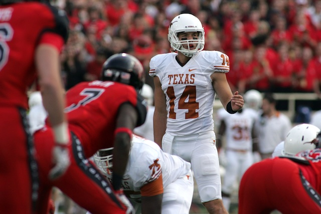 Texas will host Texas Tech on Thanksgiving night in Austin. (USATSI)