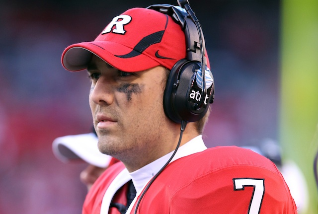 Pittsburgh quarterback Tom Savage sat out two years after transferring from Rutgers and Arizona. (USATSI)