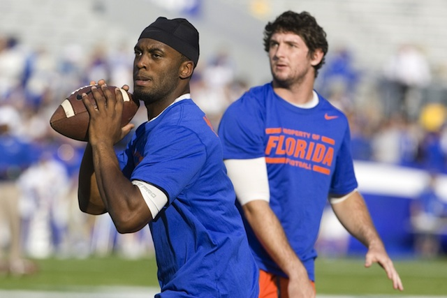Either Murphy or Mornhinweg will start for the Gators against South Carolina. (USATSI)