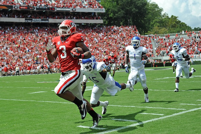 Will Todd Gurley and Georgia make one AP voter look like a genius? (USATSI)