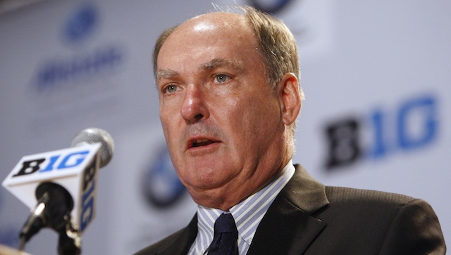 Jim Delany shared his concerns in an email exchange with Mark Emmert