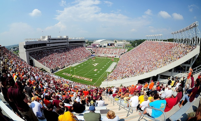 Virginia Tech and Penn State's game at Lane Stadium will be the first game played between the schools