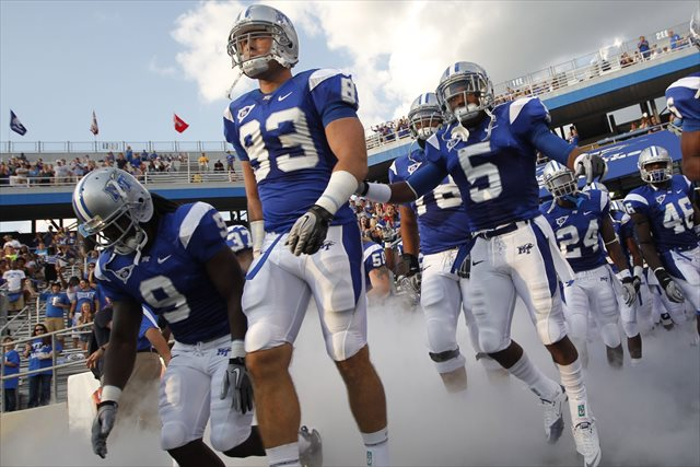 Middle Tennessee State's bowlless 8-4 2012 season might send them to Montgomery in the future. (USATSI)