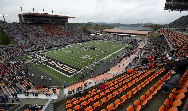 Reser Stadium will play host to San Jose State in 2015