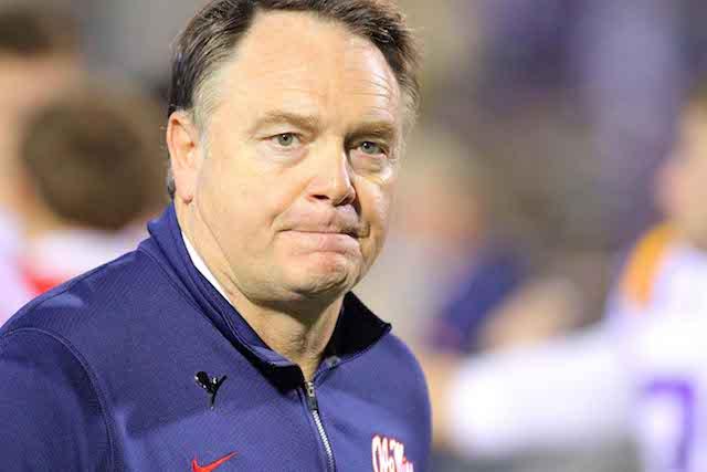 Houston Nutt hasn't coached since the 2011 season