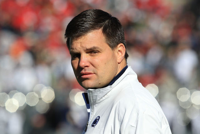 Jay Paterno was not retained by Bill O'Brien as part of the Penn State staff. (USATSI)