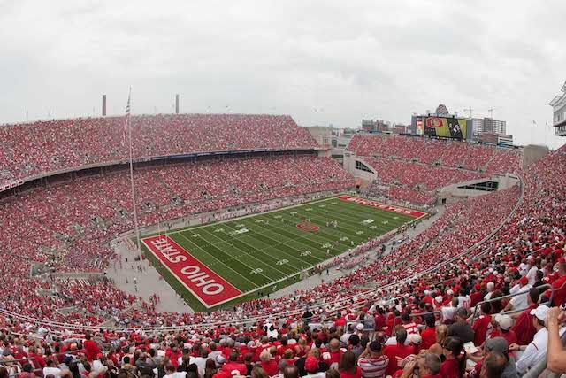 Ohio Stadium will host Notre Dame in 2022