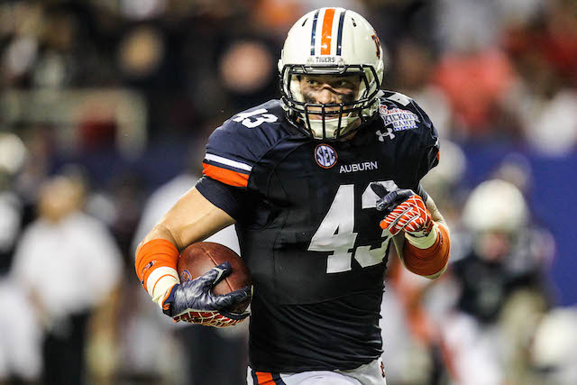 Phillip Lutzenkirchen caught 14 touchdowns during his Auburn career