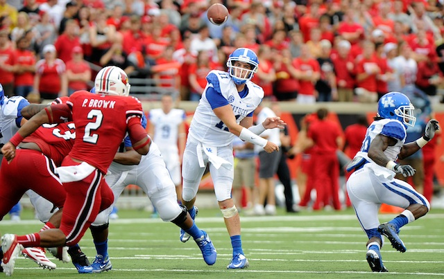 Maxwell Smith started Kentucky's opener against Louisville last year