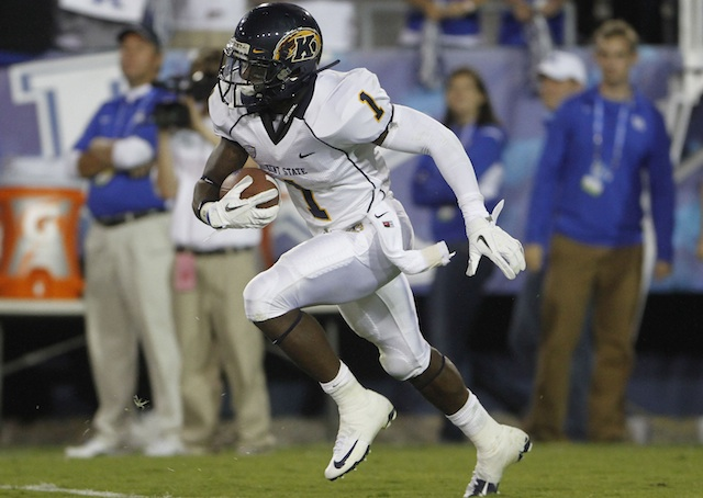 Dri Archer is not playing in the second half of Kent State's game vs. FCS Liberty. (USATSI)