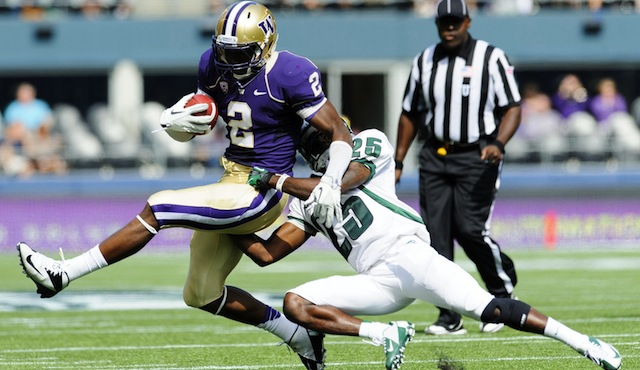 Report: Huskies WR Williams could face discipline over misdemeanor
