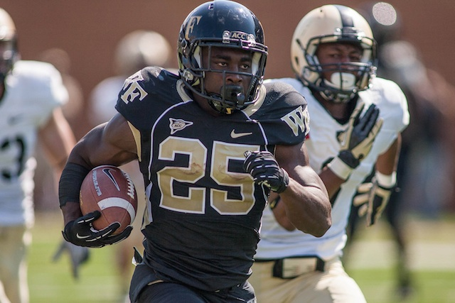 Wake Forest will have RB Josh Harris eligible for 2013. (USATSI)