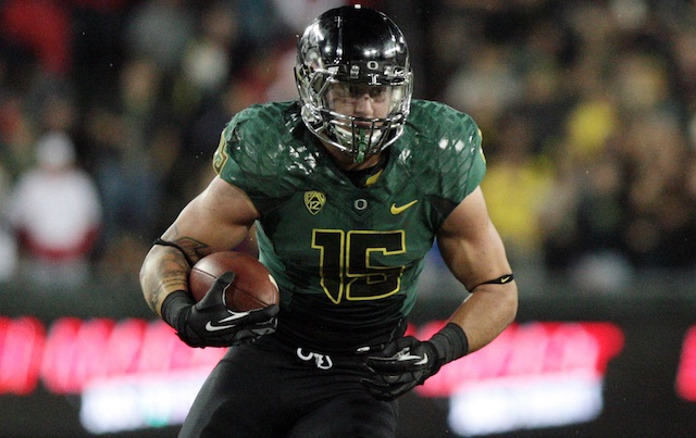 Tight end Colt Lyerla has withdrawn from Oregon