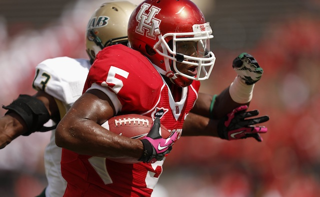 Charles Sims led Houston with 851 rushing yards in 2012.