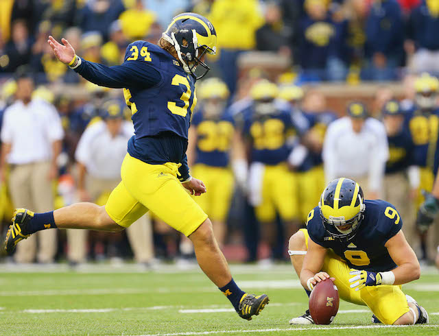 Brendan Gibbons was expelled from Michigan in December
