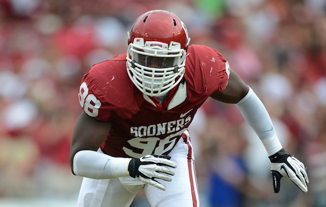 Ndulue made 43 tackles for the Sooners last season