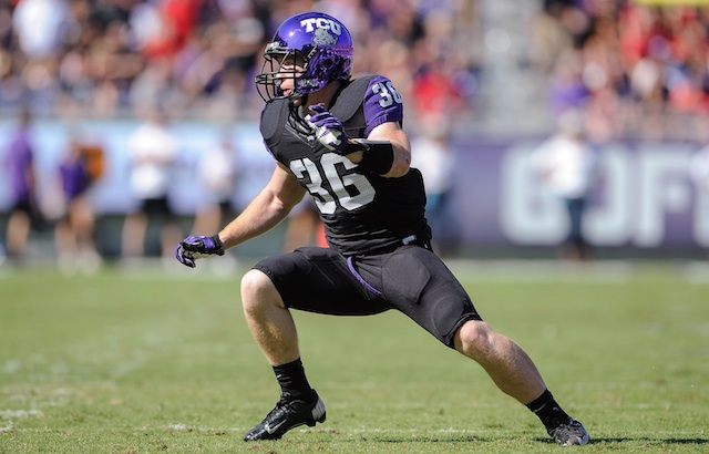 Joel Hasley had 79 tackles for TCU last season