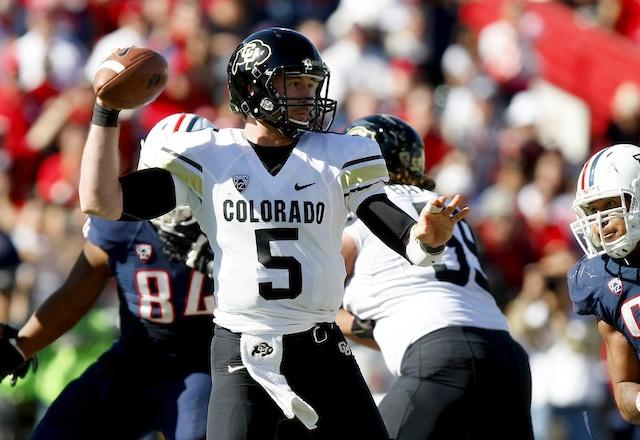 Connor Wood will open the 2013 season as Colorado's starting quarterback