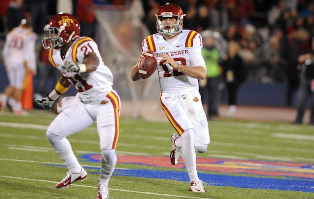 Iowa State QB Sam Richardson will be reunited with his high school teammate