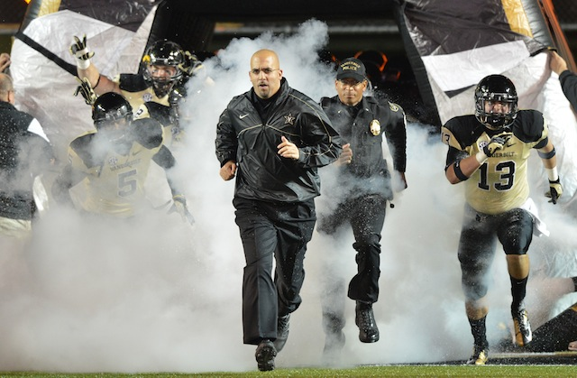 James Franklin released a statement on the dismissed Commodores