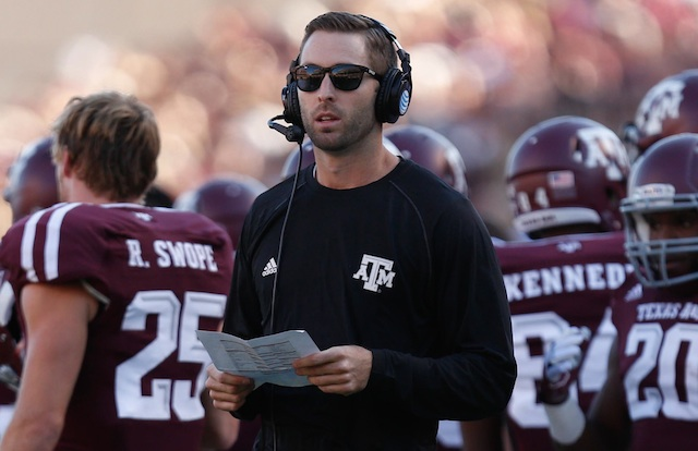 Kliff Kingsbury hopes Texas Tech's future's so bright he has to wear shades=